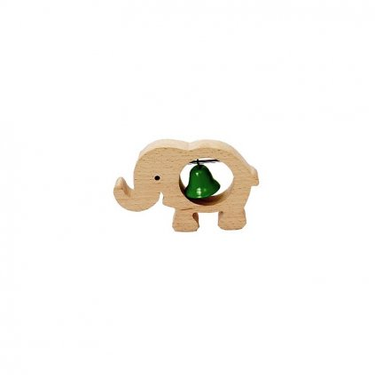 Hudební slon se zeleným zvonkem