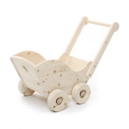 Dřevěný vozík Hugo