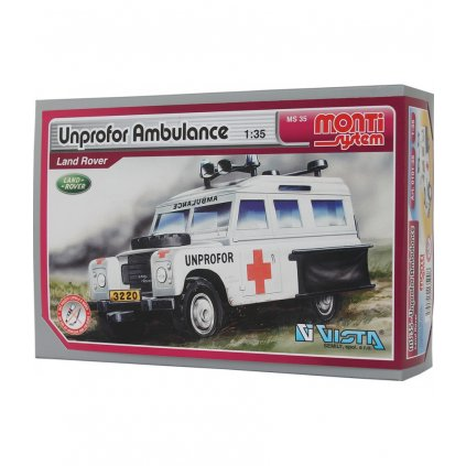 monti ms 35 unprofor ambulance