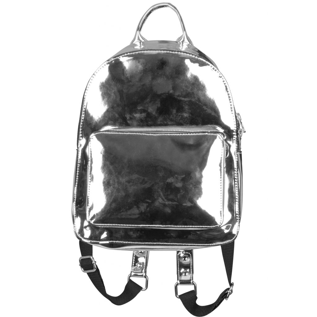 Midi Metallic Backpack silver one size