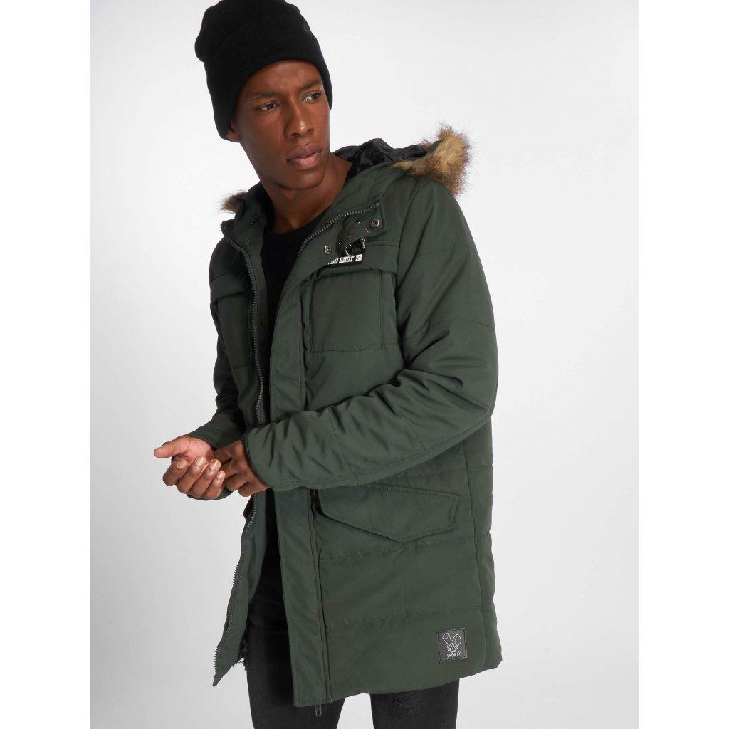 Pánska zimná bunda Thug Life   Winter Jacket Divers in black - Hugo Shop 4ba558a4de6