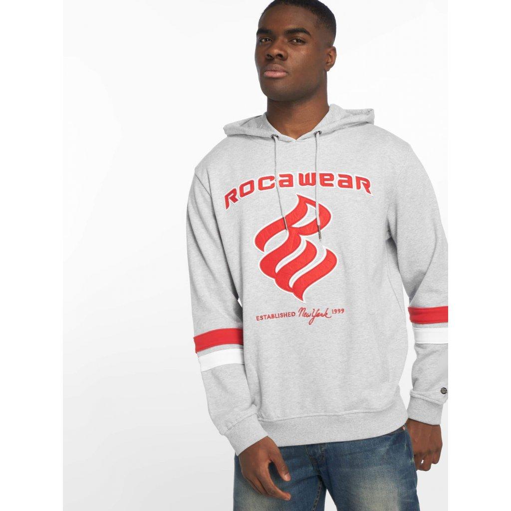Pánska mikina s kapucňou Rocawear   Hoodie DC in grey - Hugo Shop 759e98674a3