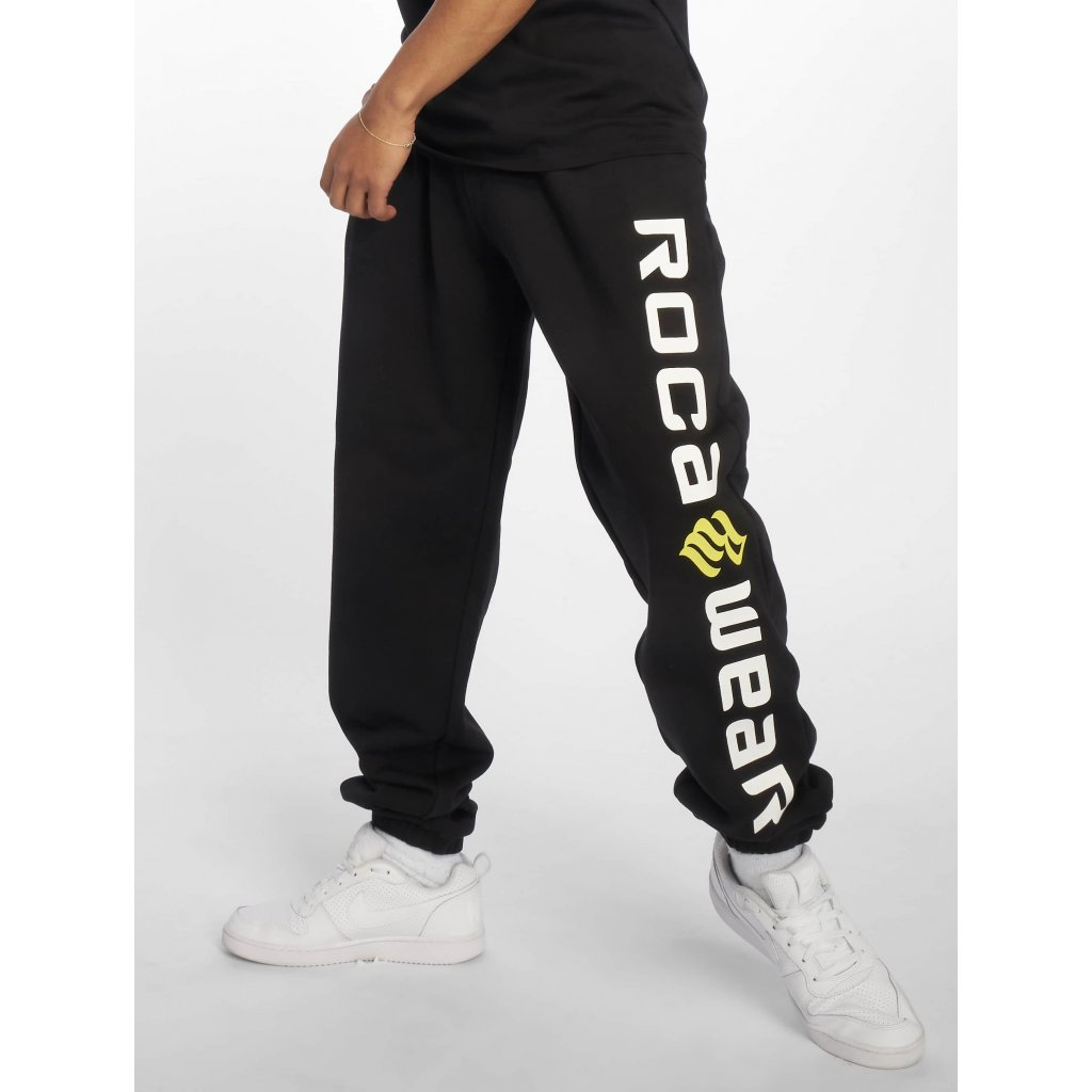 Pánske tepláky  Rocawear / Sweat Pant Basic Fleece in black