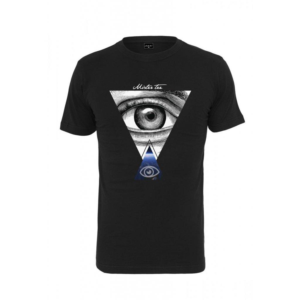 Pánske tričko Mister Tee Eyes Tee black