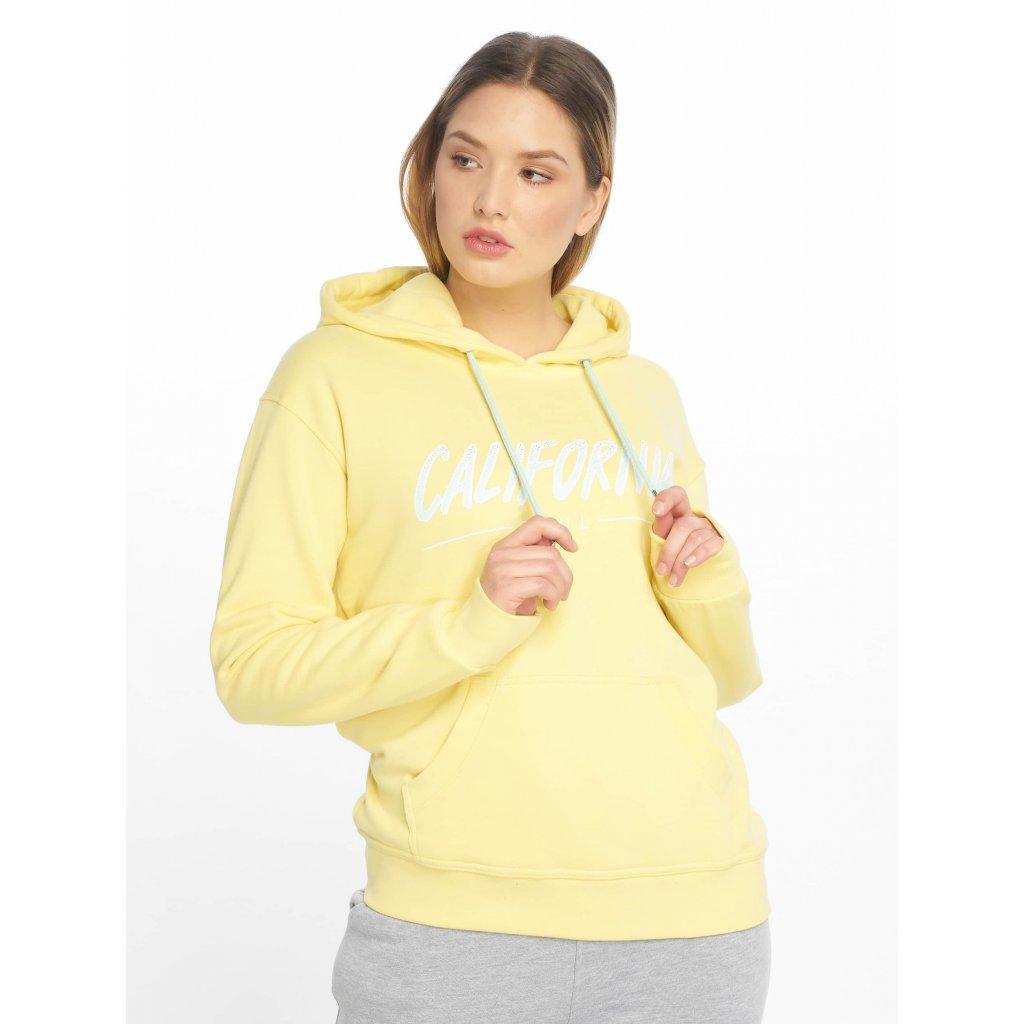 Just Rhyse / Hoodie Santa Monica in yellow