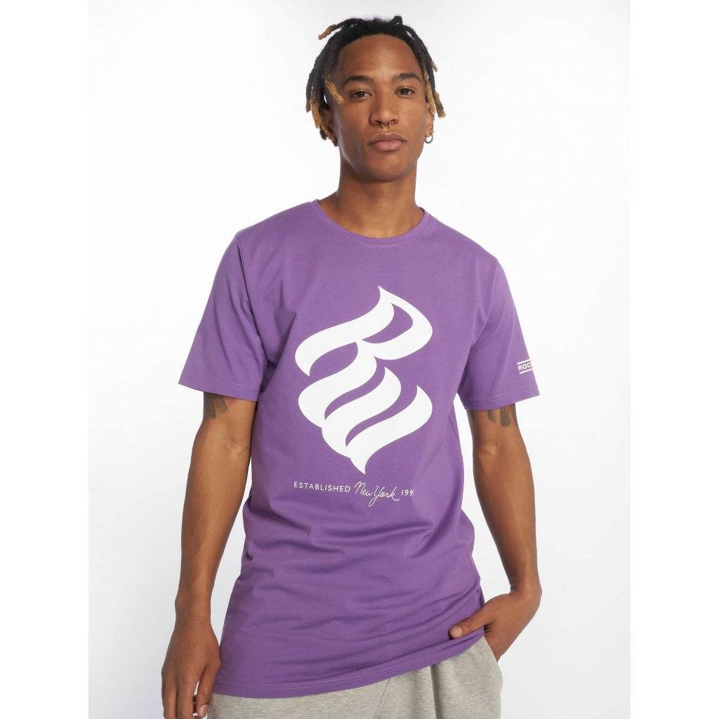 Tričko  Rocawear / T-Shirt NY 1999 T in purple
