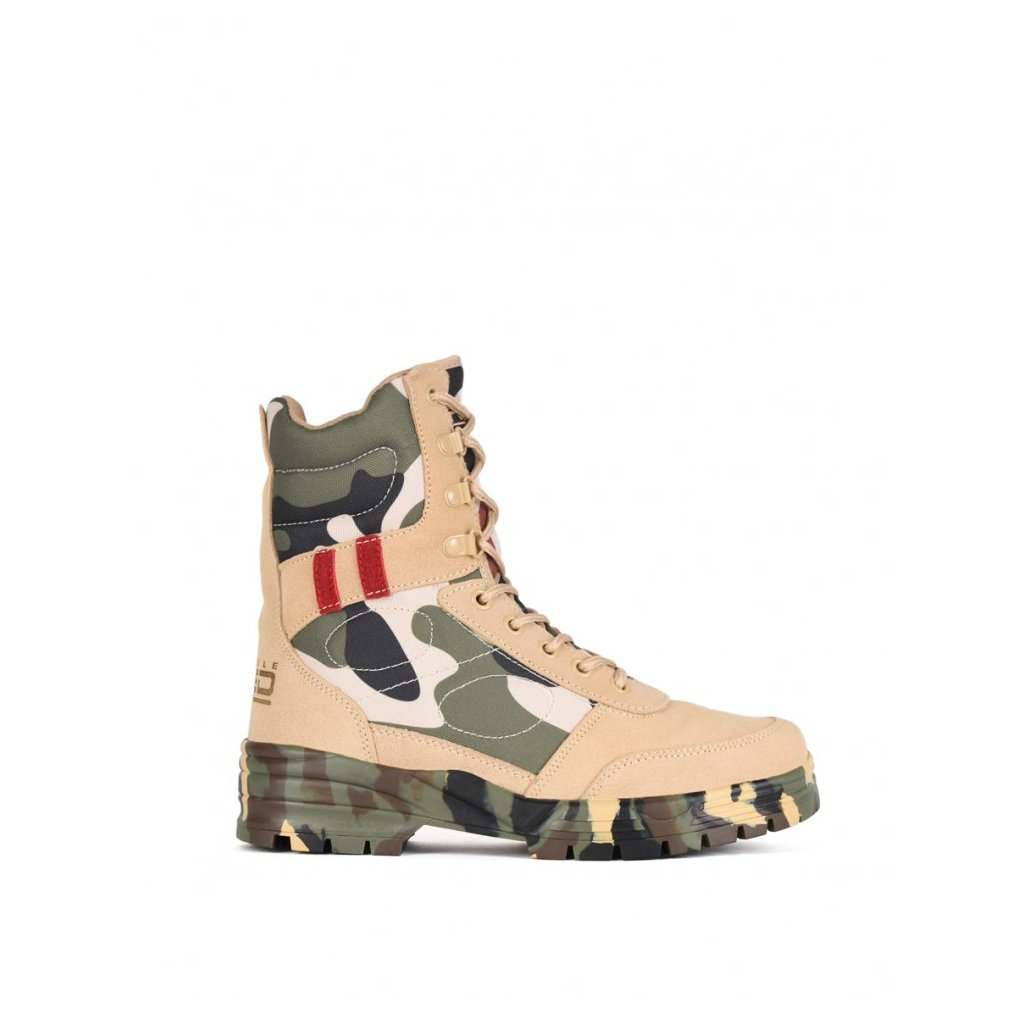 DOUBLE RED  Boots Original Camo Red Desert