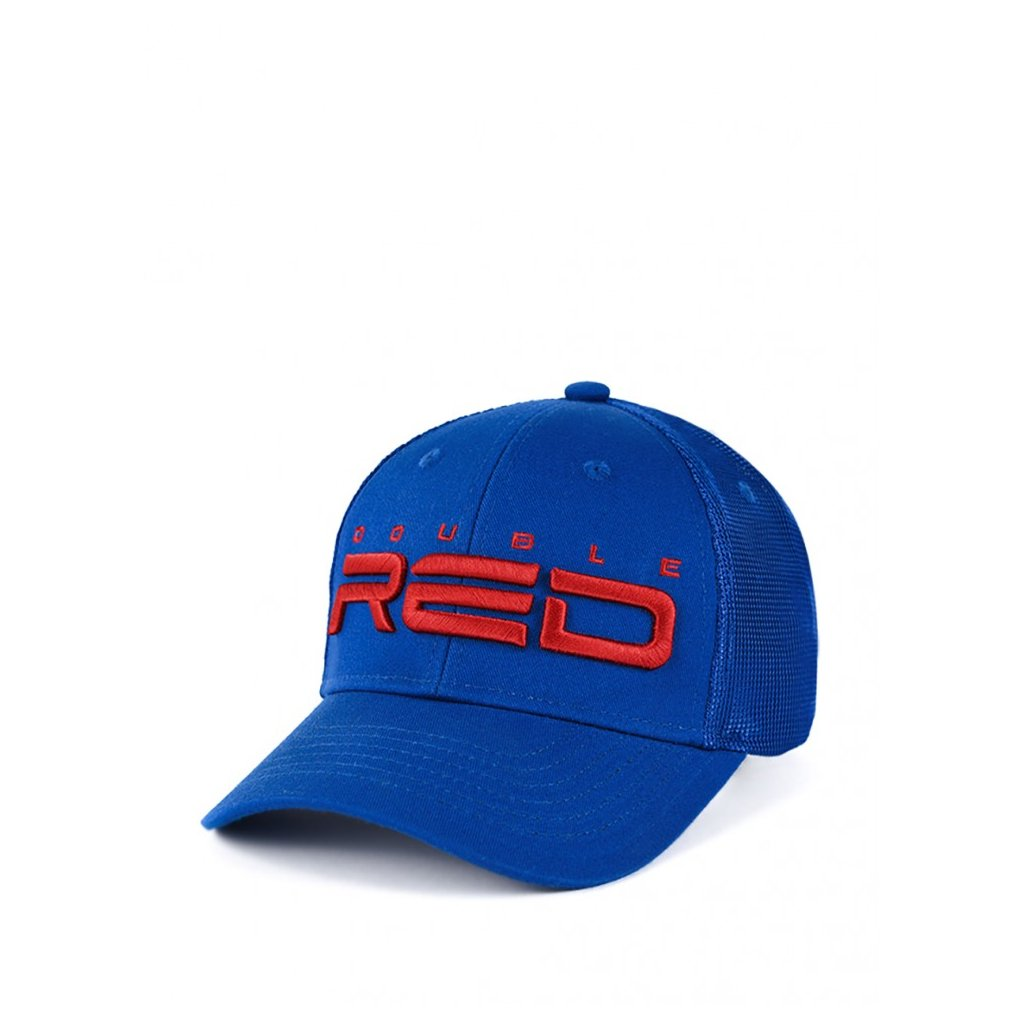 Šiltovka  DOUBLE RED Airtech Mesh Cap Blue