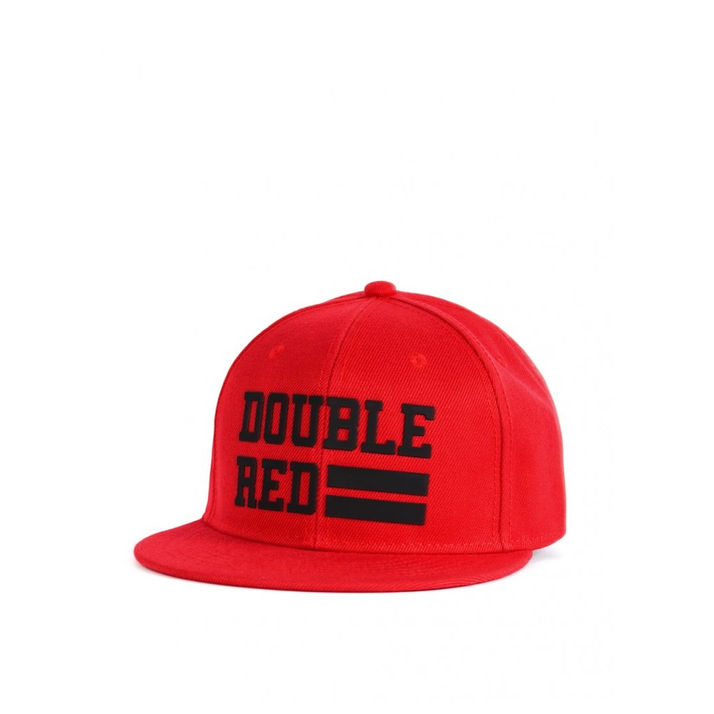 Šiltovka  DOUBLE RED  Snapback Cap UNIVERSITY OF RED Red/Black
