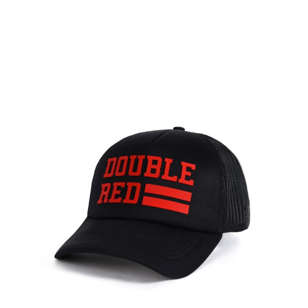 Šiltovka  DOUBLE RED  Trucker Cap UNIVERSITY OF RED Black/Red