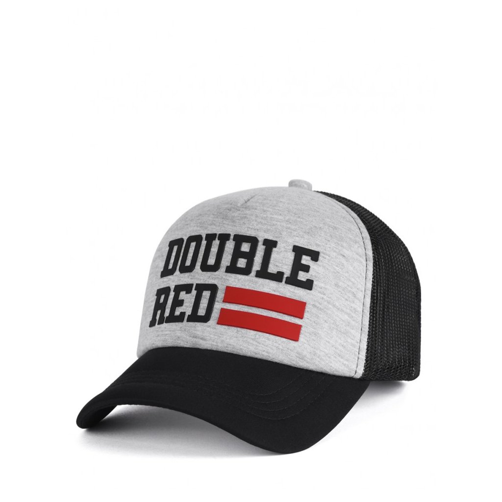 Šiltovka  DOUBLE RED  Trucker Cap UNIVERSITY OF RED Melange Grey/Black