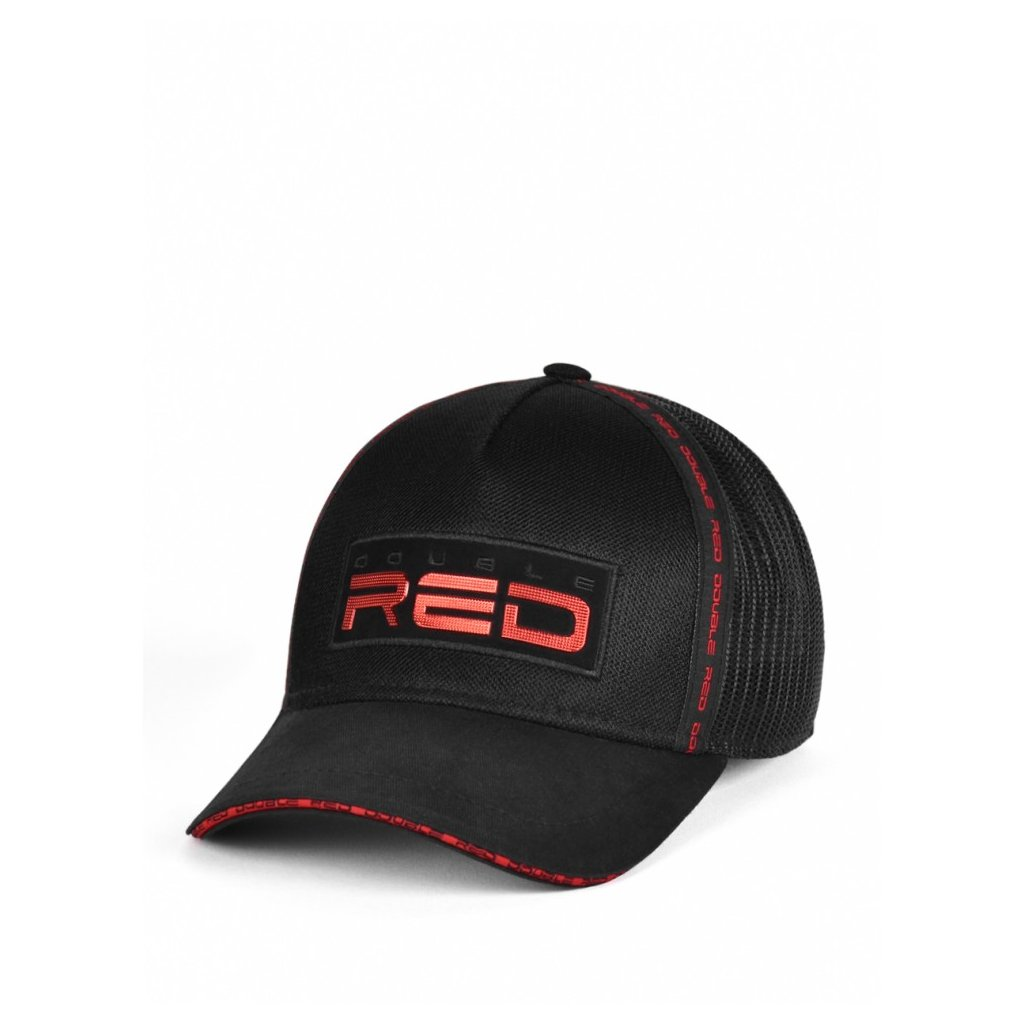 Šiltovka  DOUBLE RED EXQUISIT Cap Black