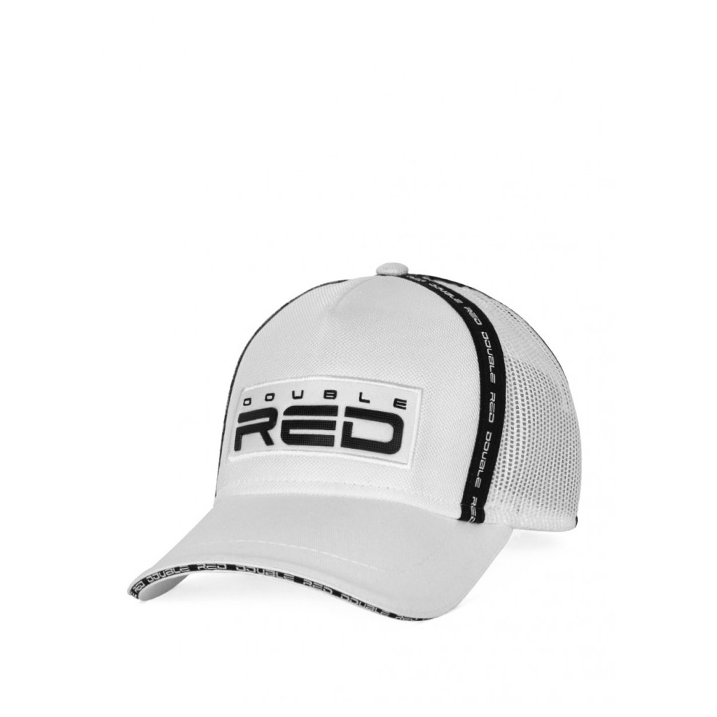 Šiltovka  DOUBLE RED EXQUISIT Cap White/Black