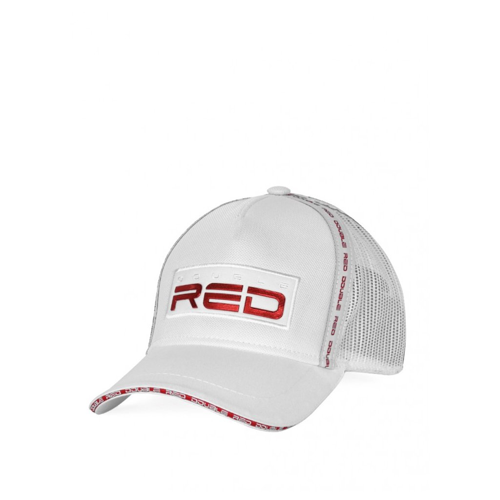 Šiltovka  DOUBLE RED EXQUISIT Cap White/Red