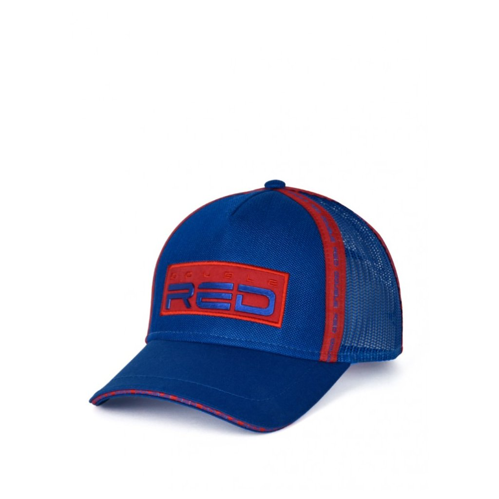 Šiltovka  DOUBLE RED EXQUISIT Cap Blue