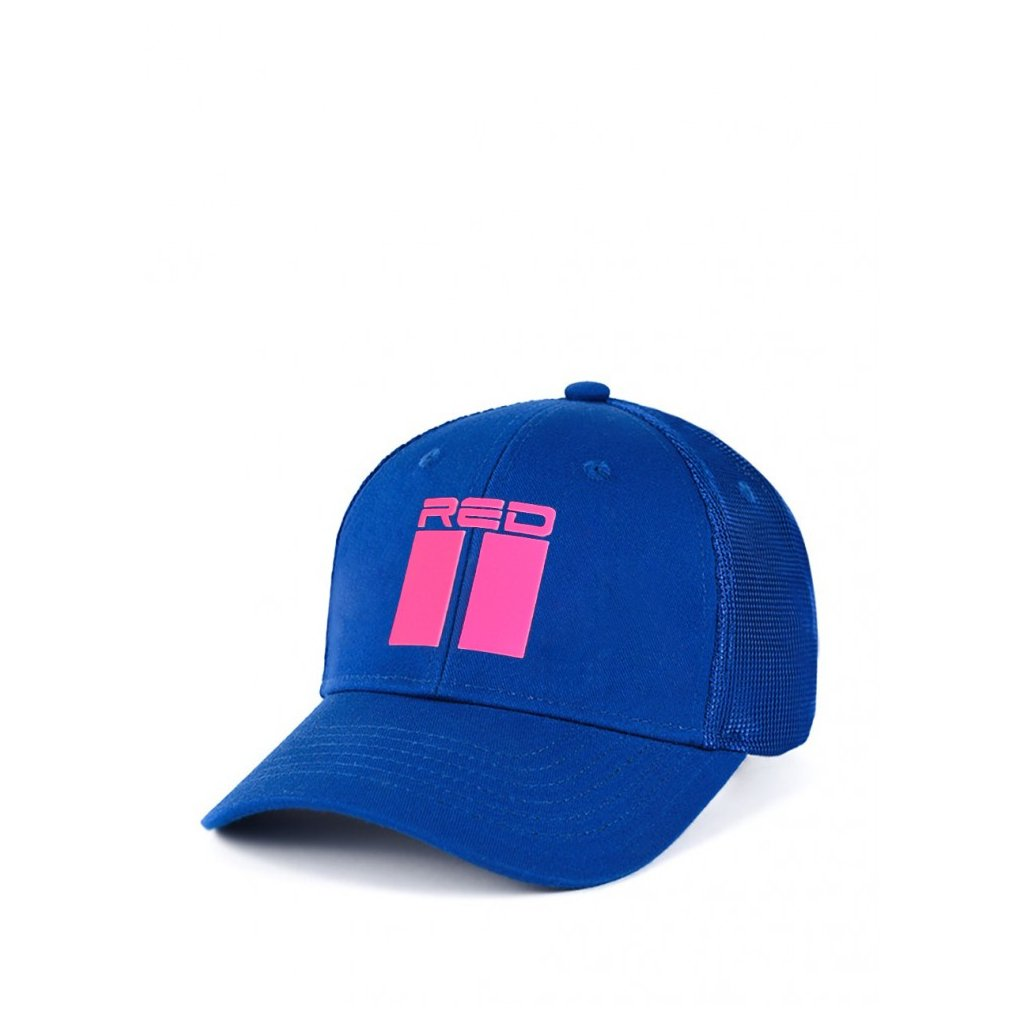 Šiltovka  DOUBLE RED  Summer Vibes NEON Cap Blue