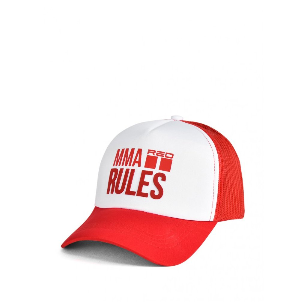 Šiltovka  DOUBLE RED  MMA RULES Red Cap