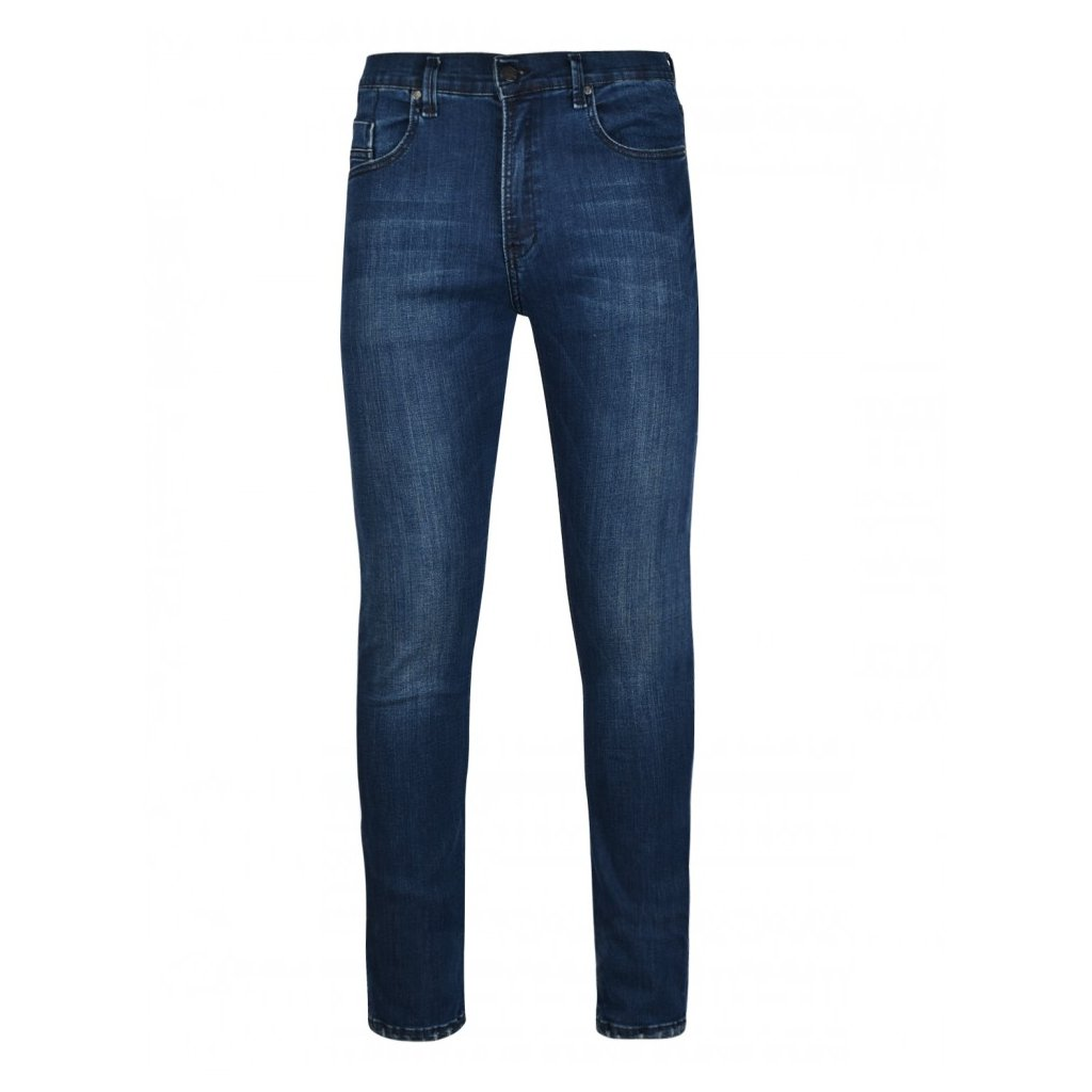 DOUBLE RED  RED JEANS Regular Dark Blue Skinny Fit