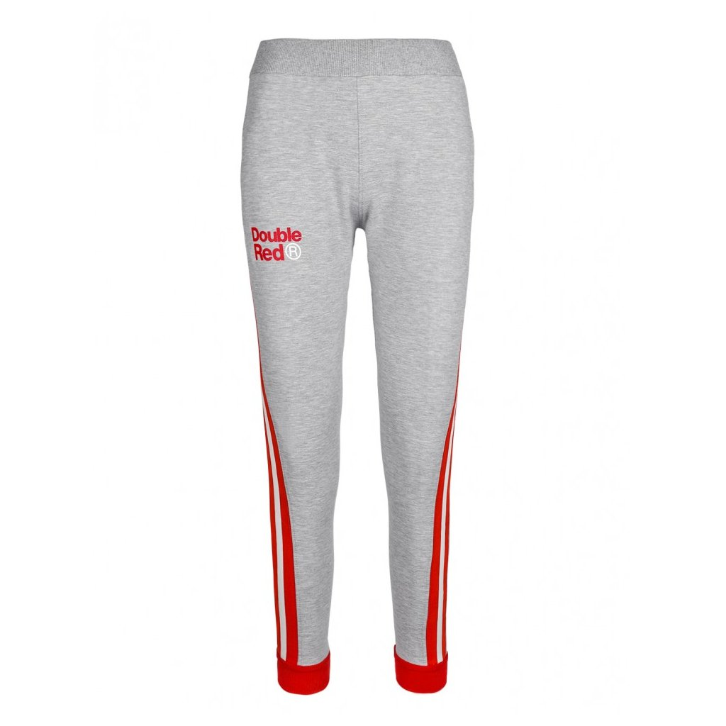 Tepláky  DOUBLE RED  Sweatpants FABULOUS Grey