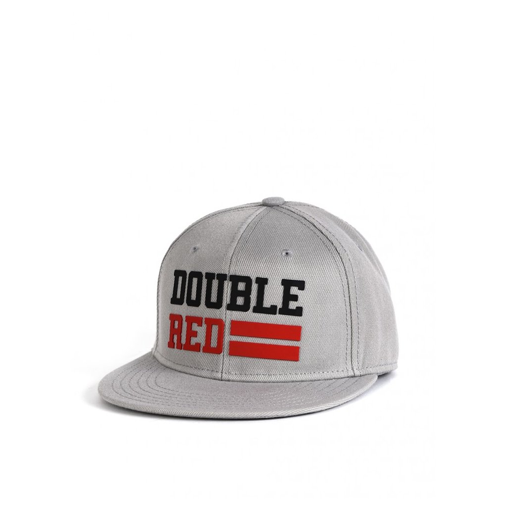Šiltovka  DOUBLE RED  Snapback Cap UNIVERSITY OF RED Grey/Black/Red