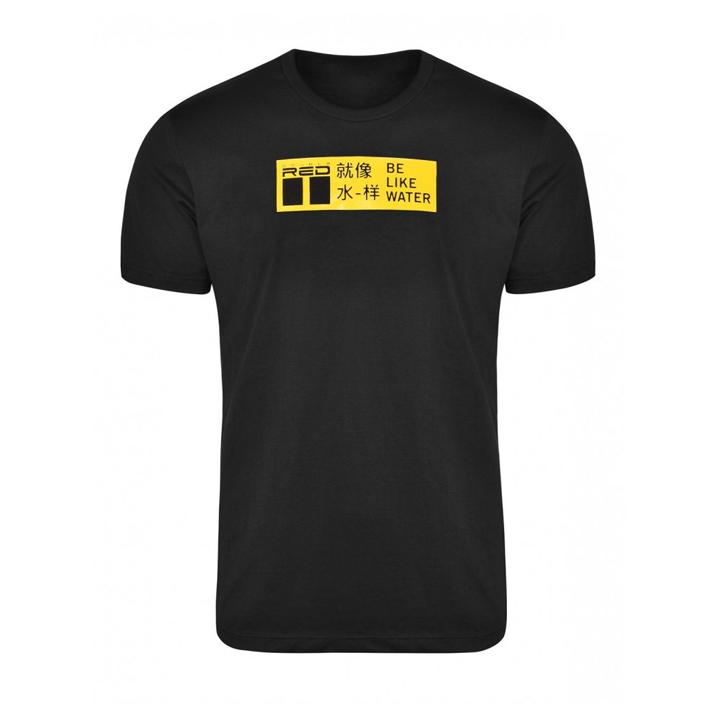 Tričko  DOUBLE RED  T-shirt KUNG-FU MASTER™ Black