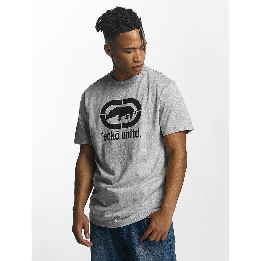 Pánske tričko Ecko Unltd. / T-Shirt Base in grey