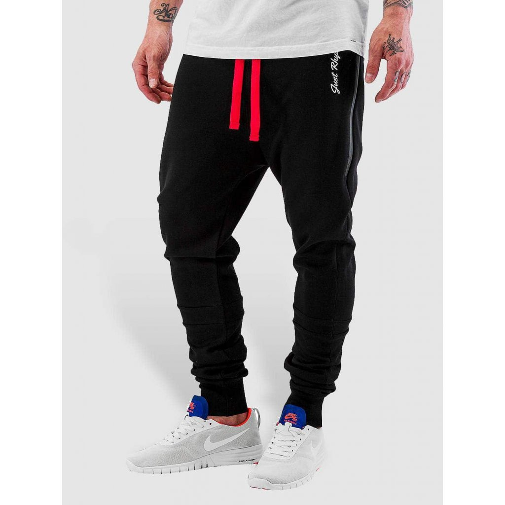 Pánske tepláky Just Rhyse / Sweat Pant Big Pocket Tech in black