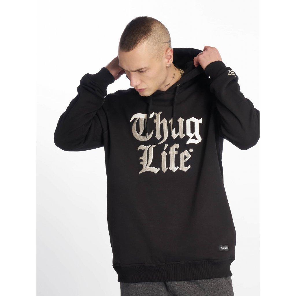 Pánska mikina Thug Life / Hoodie Ssiv in black