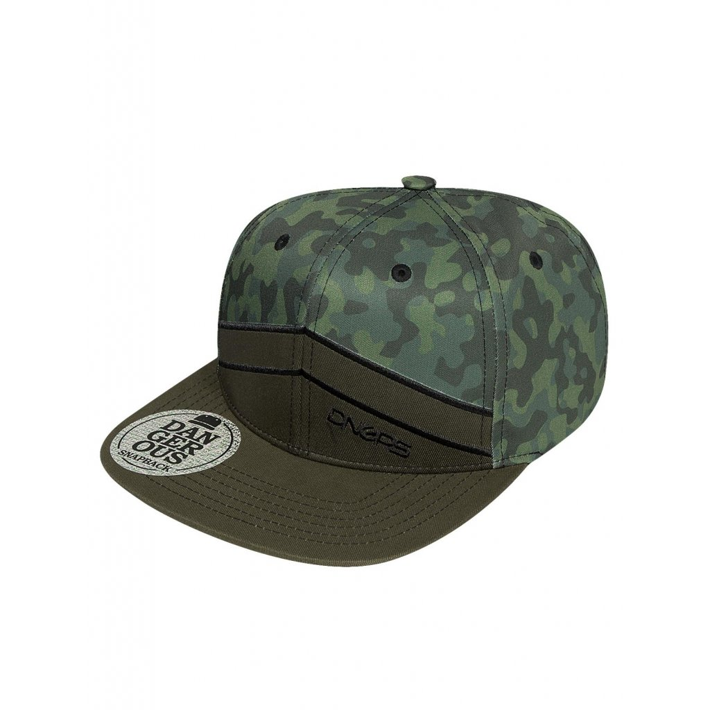 Pánska šiltovka Dangerous DNGRS / Snapback Cap Kreuzberg in camouflage