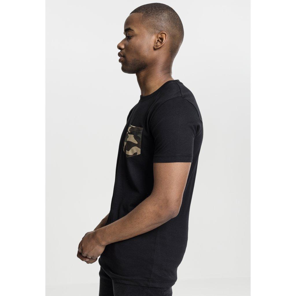Pánske tričko Camo Pocket Tee blk/camo