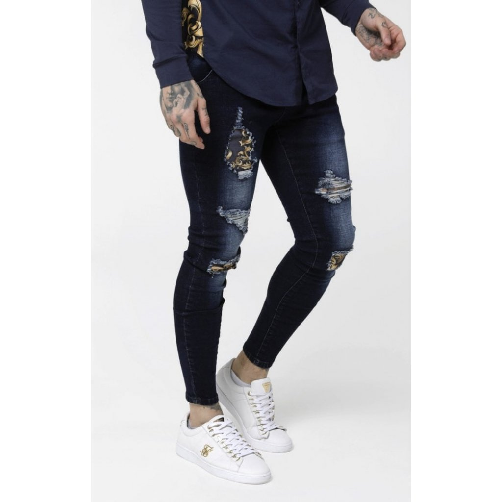 Pánske rifle SIKSILK LOW RISE