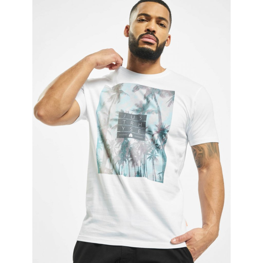 Tričko  Just Rhyse / T-Shirt San Mateo in white