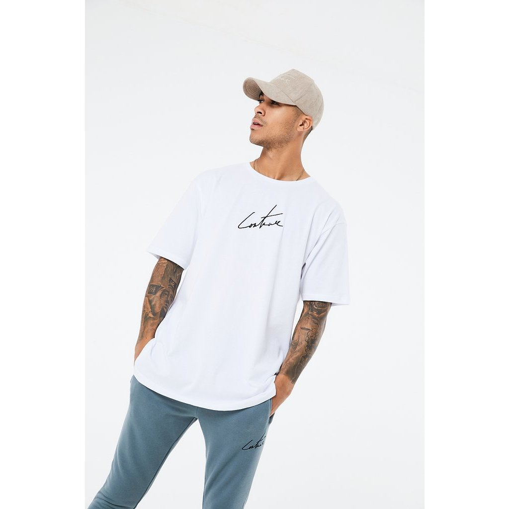 Pánske tričko The Couture Club ESSENTIALS OVERSIZED T-SHIRT