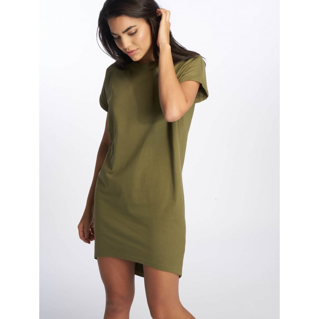 DEF / Dress Agung in olive