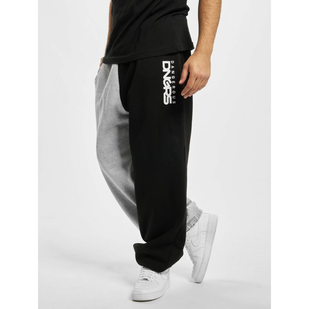 Pánske tepláky  Dangerous DNGRS / Sweat Pant Two-Face in grey