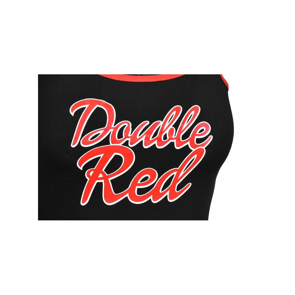 DOUBLE RED  RED BODY Black
