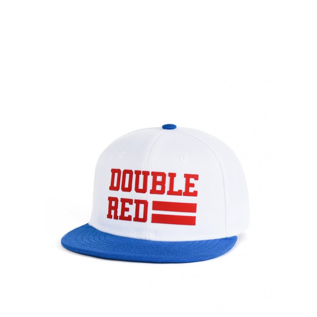 Šiltovka  DOUBLE RED  Snapback Cap UNIVERSITY OF RED White/Blue