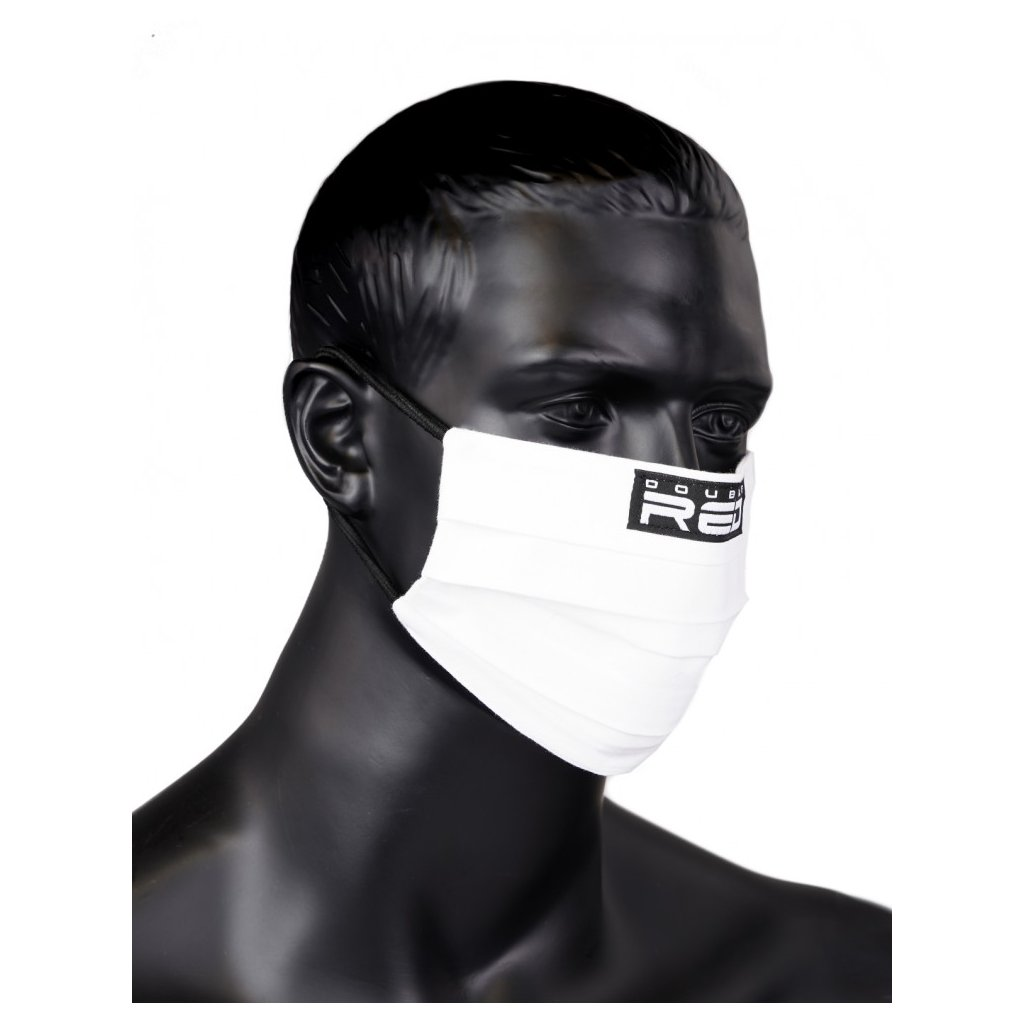 DOUBLE RED  MASK White Special