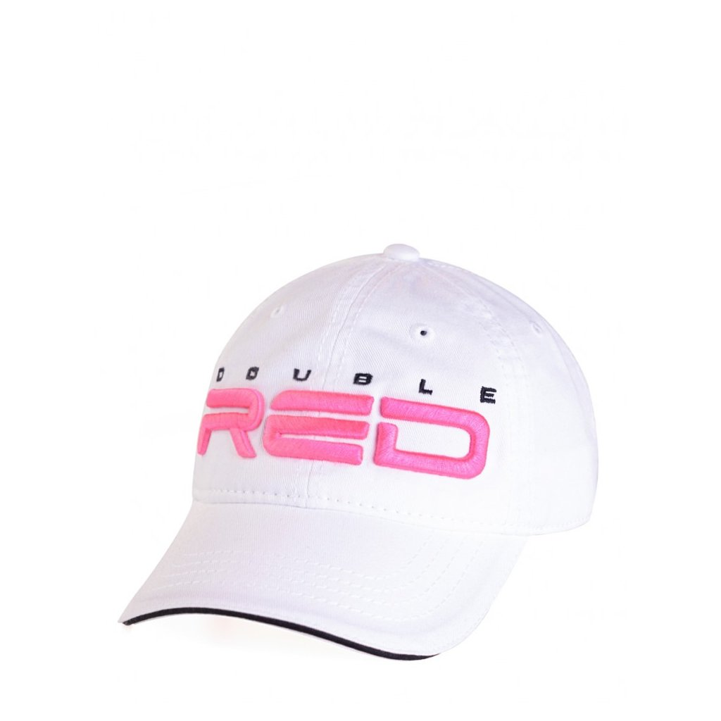 DOUBLE RED  KID Cap White/Pink