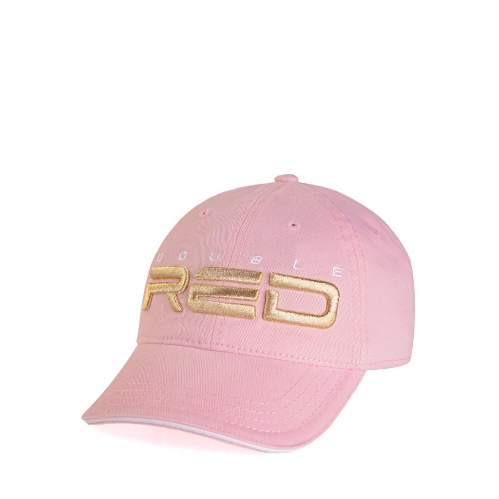DOUBLE RED  KID Cap Pink/Gold