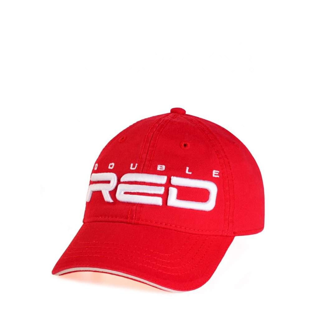 DOUBLE RED  KID Cap Red/White