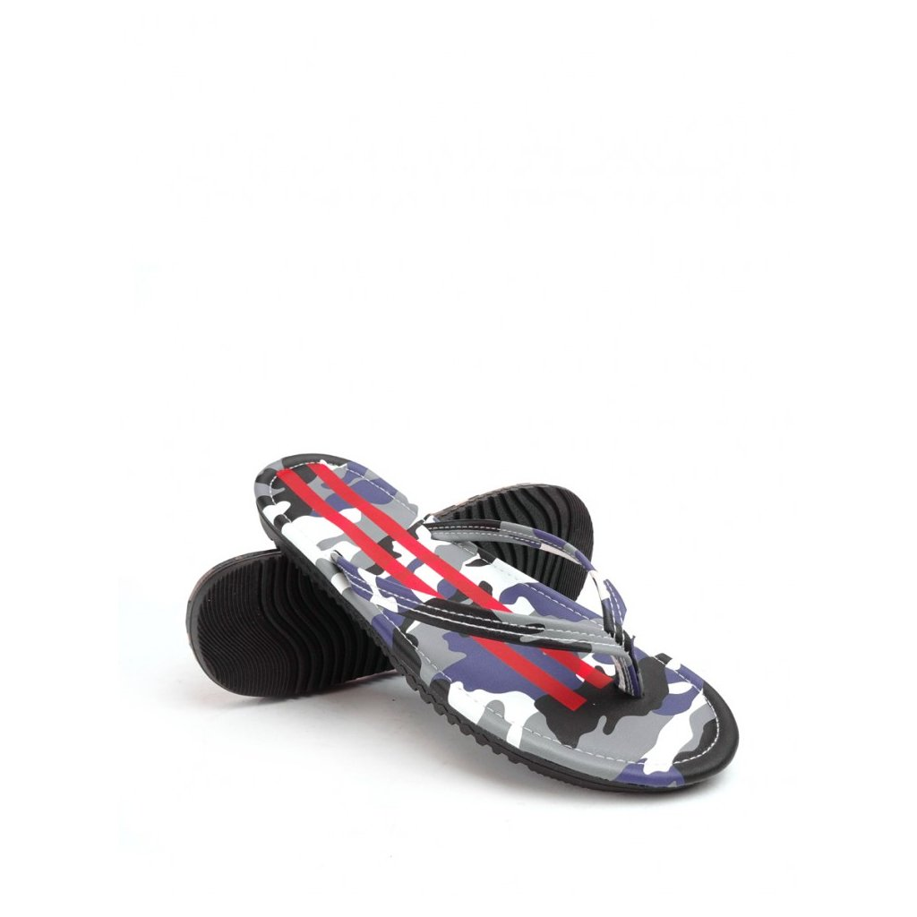 DOUBLE RED  Slippers Camo Shark