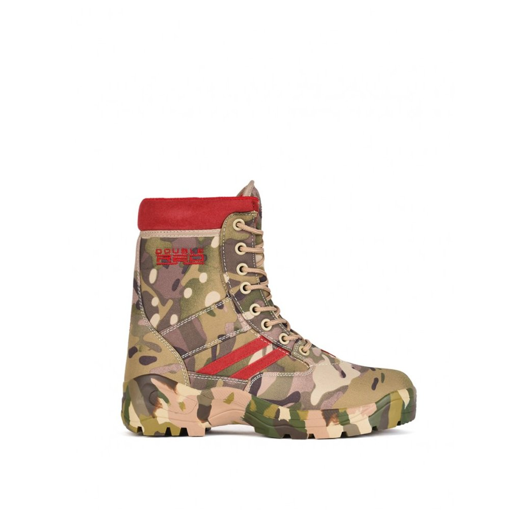 DOUBLE RED  Boots Multicam Red
