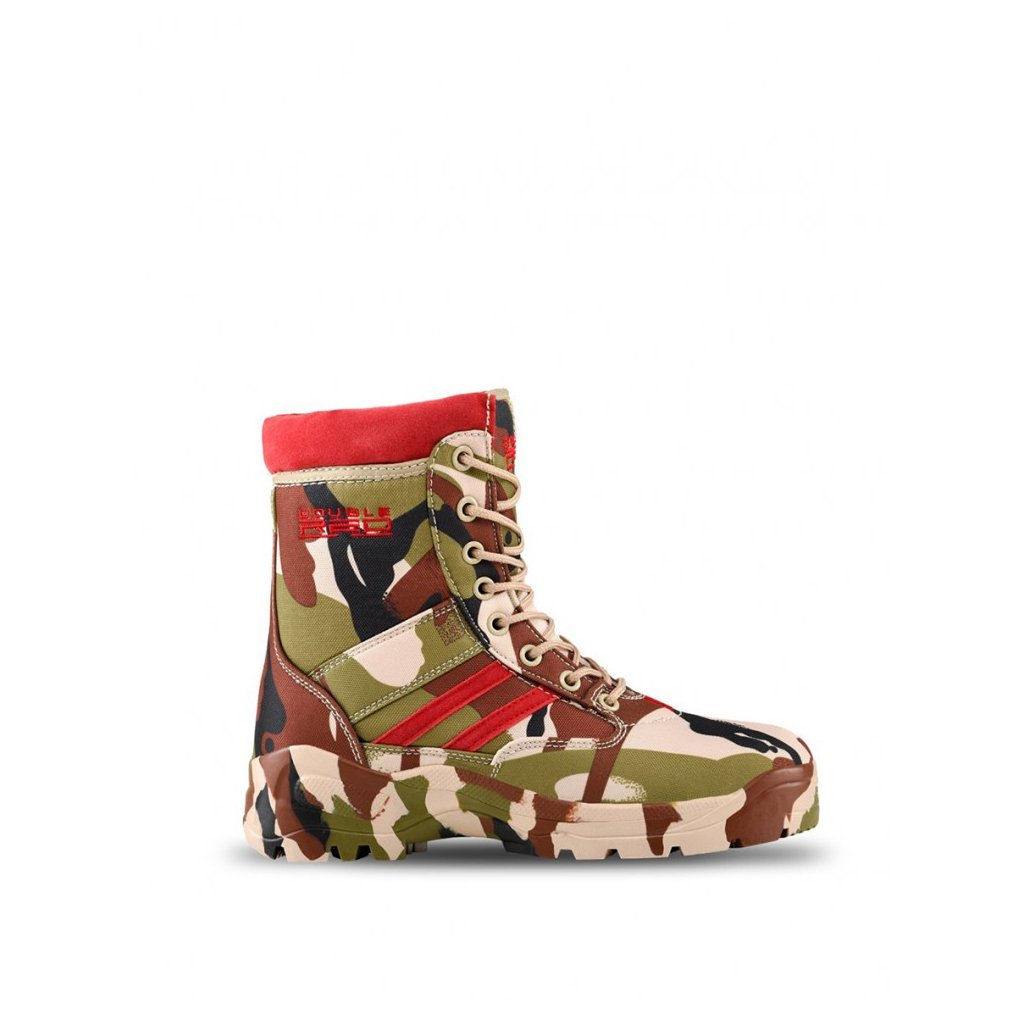 DOUBLE RED  Boots Soldier