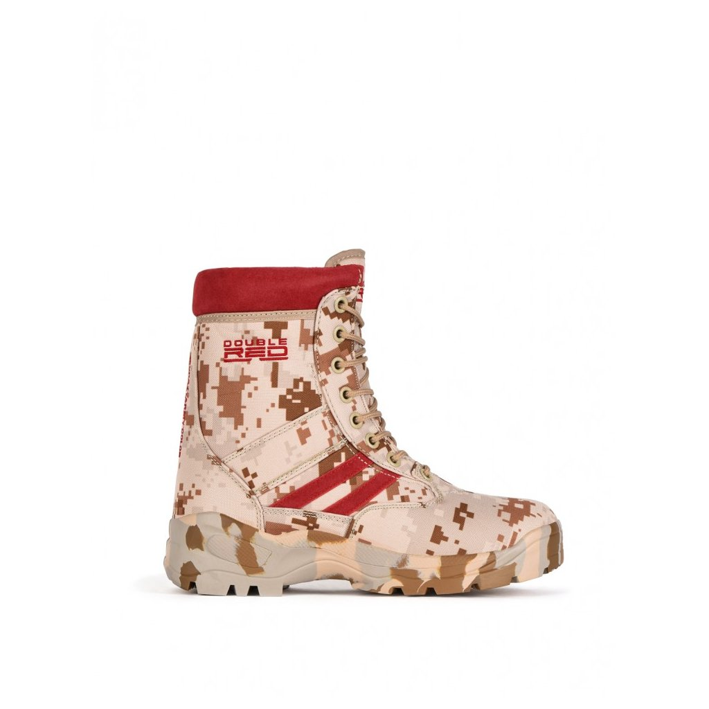 DOUBLE RED  Boots Red Jungle Digital
