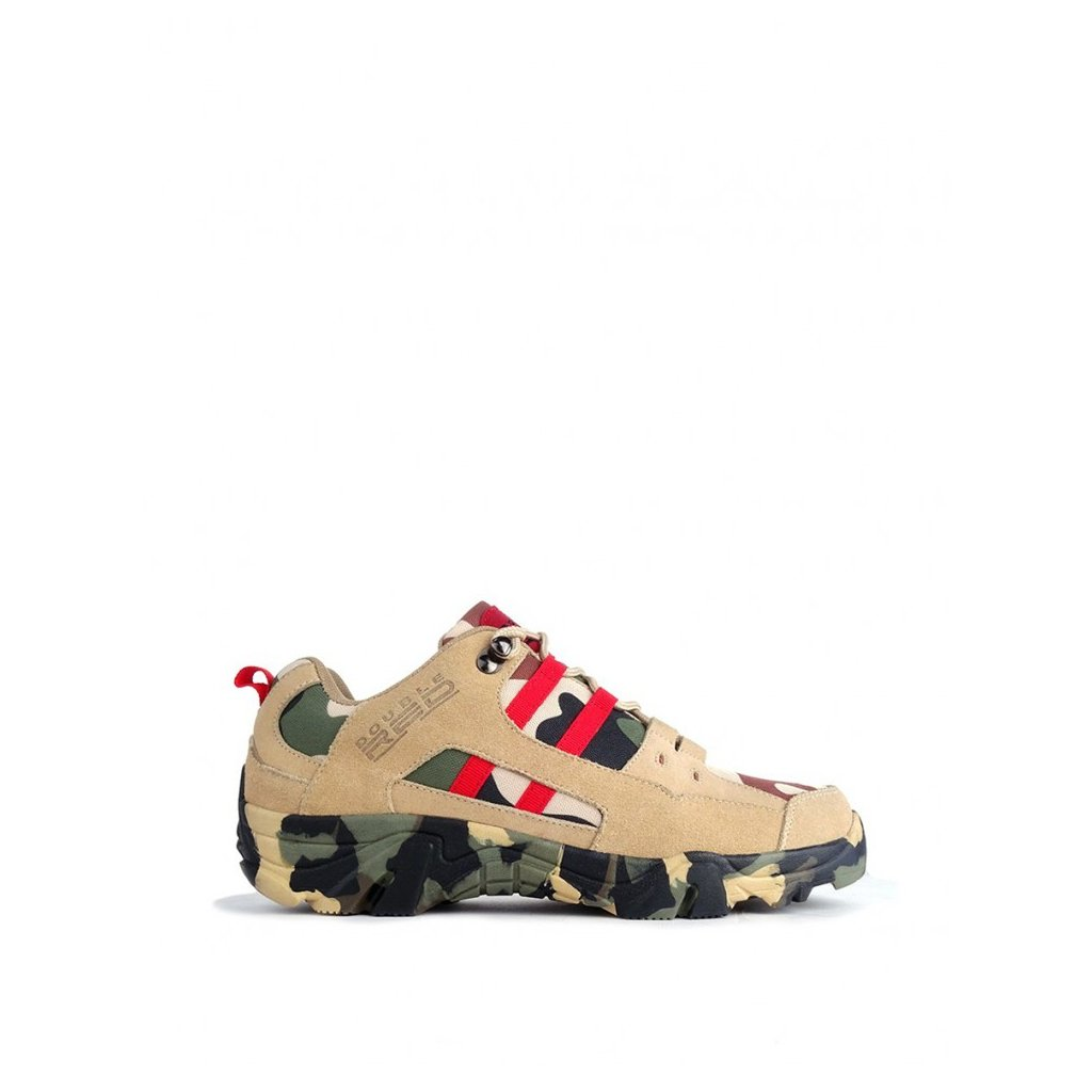 DOUBLE RED  Boots Red Hero Soldier Edition Green/Sand
