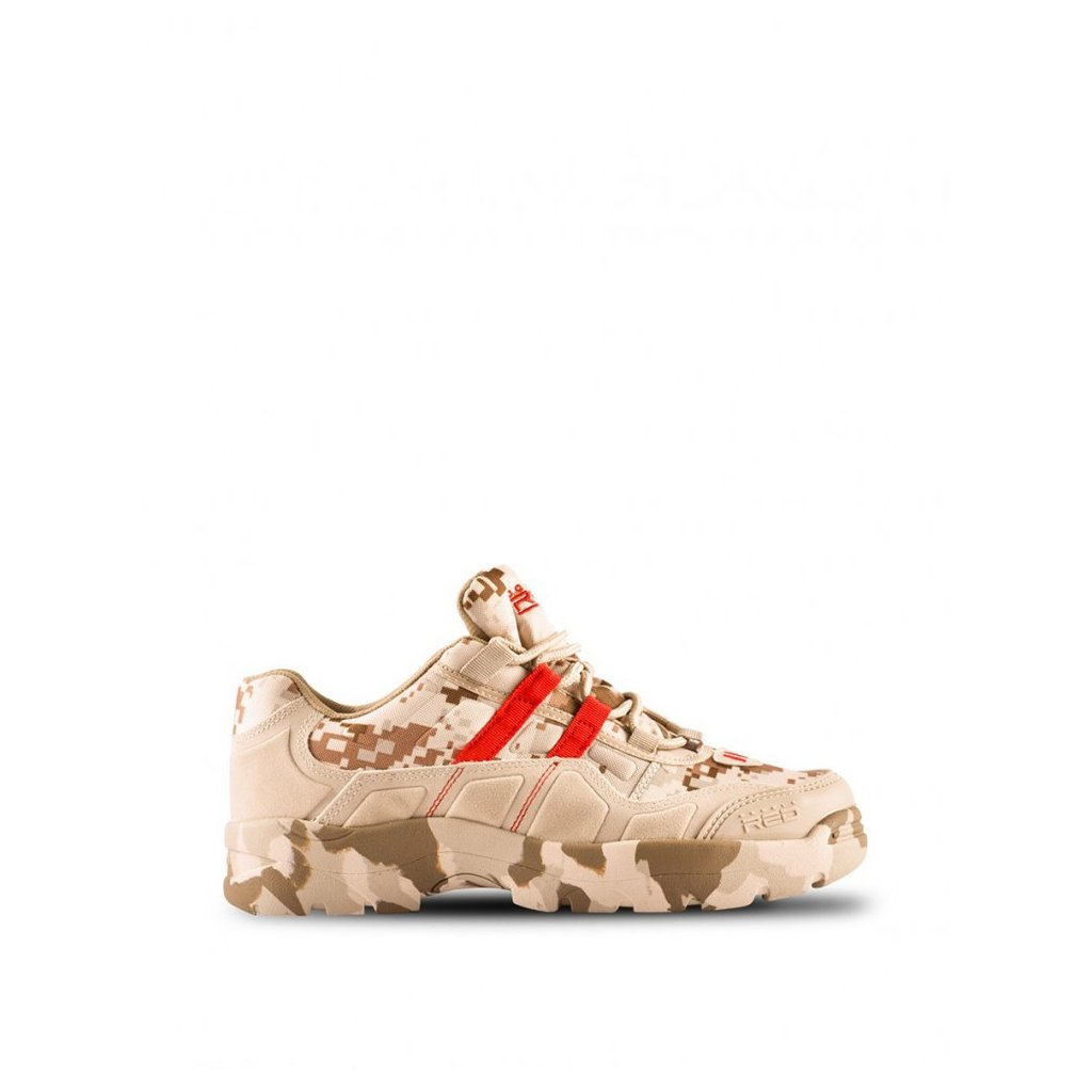 DOUBLE RED  Boots Attack Digital Camo