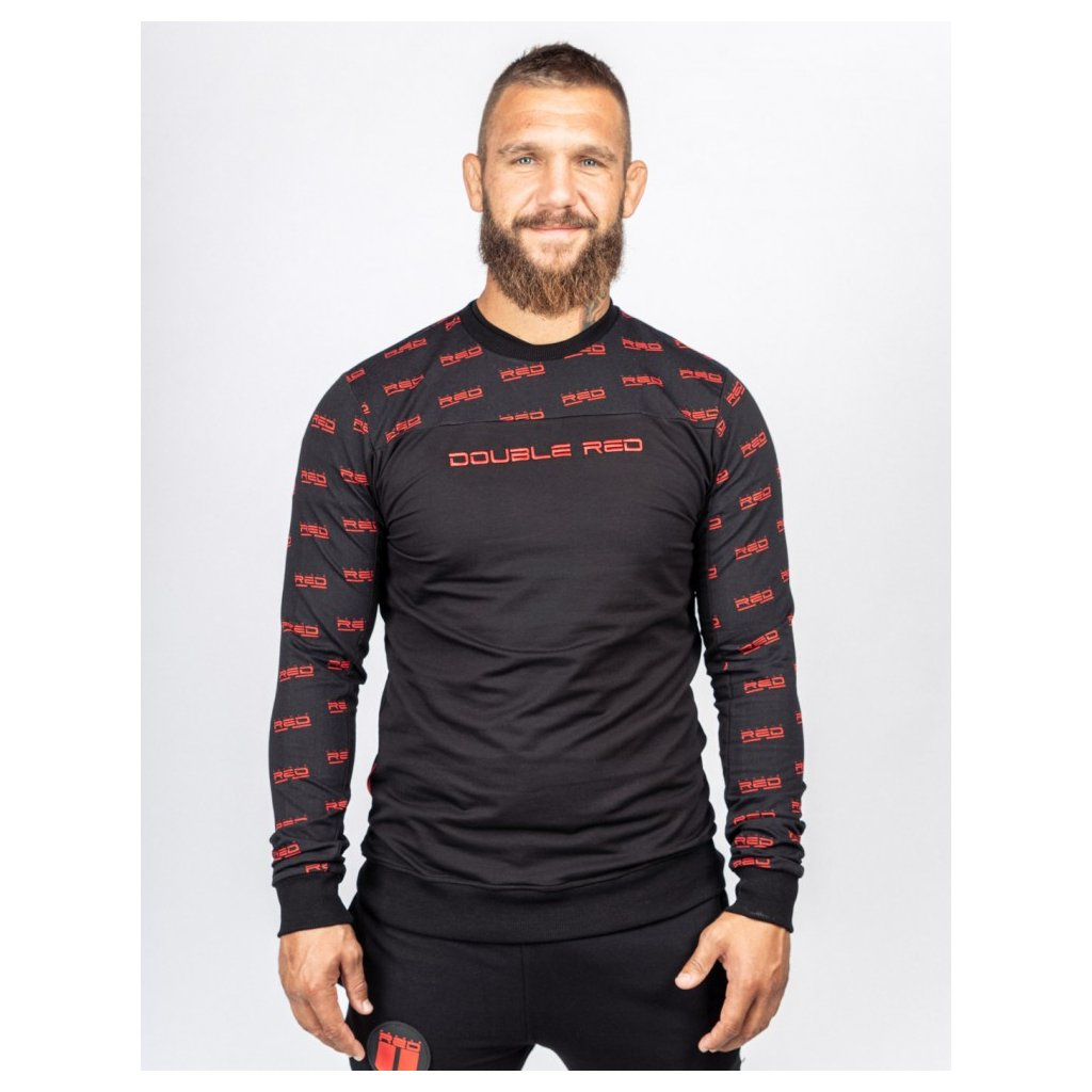 Mikina  DOUBLE RED  Sweatshirt UTTER FULL LOGO Black