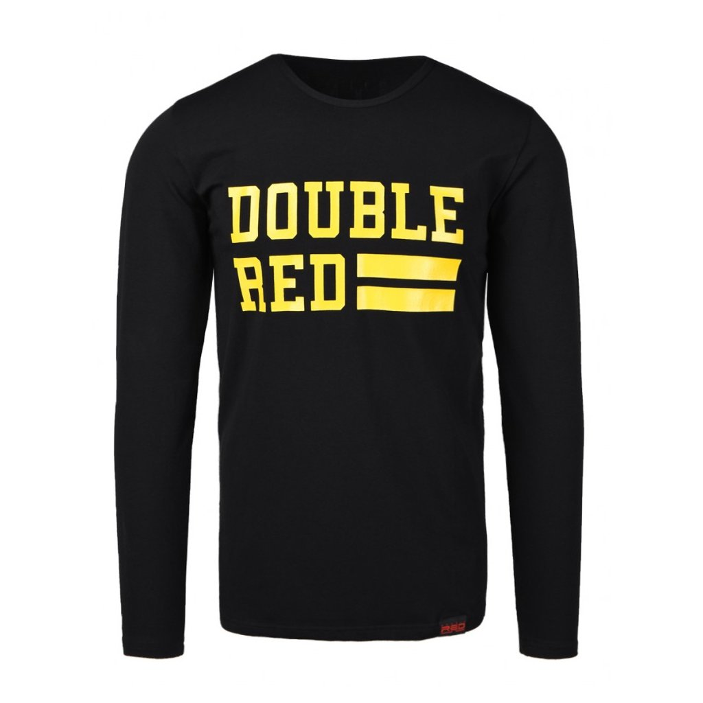 Tričko  DOUBLE RED  UNIVERSITY OF RED long sleeve WASP Edition T-shirt