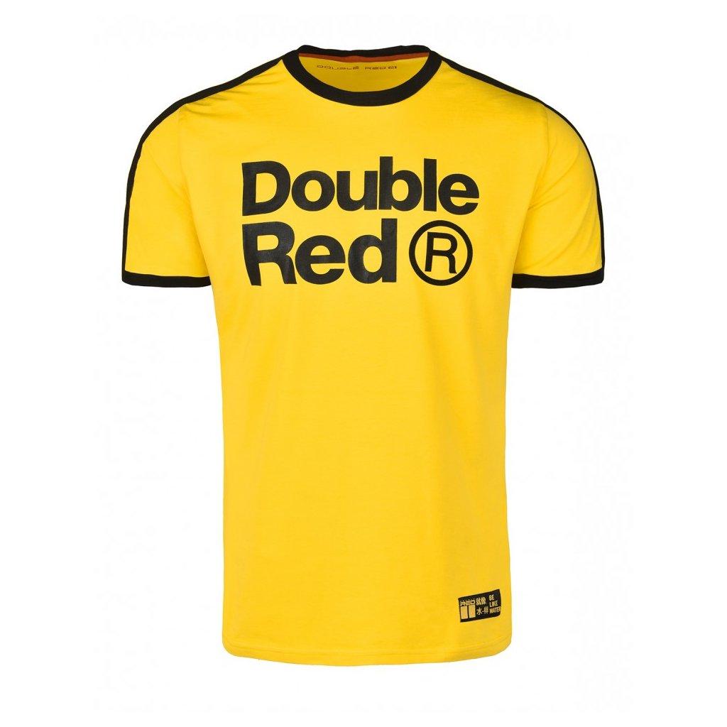 Tričko  DOUBLE RED  T-shirt TRADEMARK KUNG-FU MASTER™ Yellow